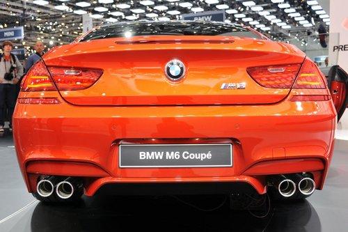日内瓦首发 宝马M6 Coupe-V8引擎/售103万