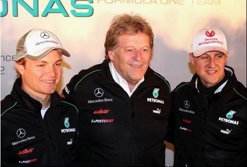 罗斯伯格问鼎F1,SLK一路向前