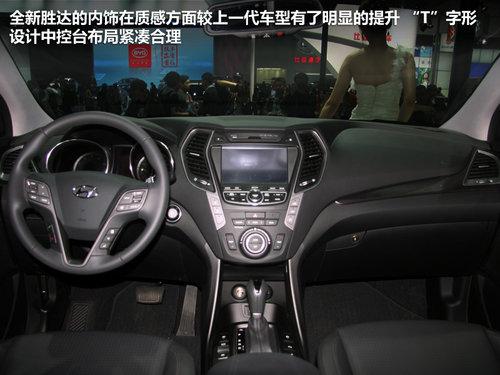 全面升级 现代新胜达北京车展实拍解析