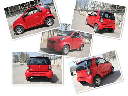 一款身材娇小却不可小觑的纯电动汽车——双环电动小贵族. 高清图片