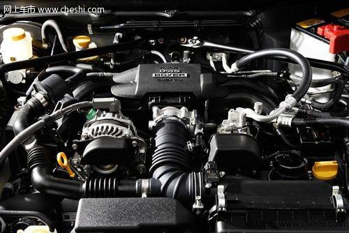 斯巴鲁brz所搭载的自然吸气版fa20发动机,采用反置式布局高清图片