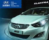 北京现代全新中级车朗动亮相北京车展