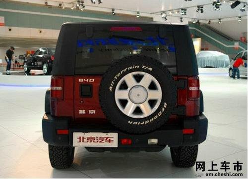 北汽b40形似jeep牧马人 高清图片
