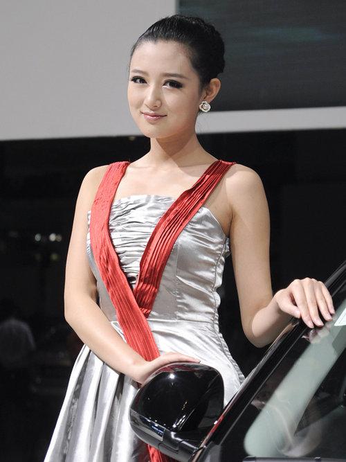 2012兰州国际车展模特