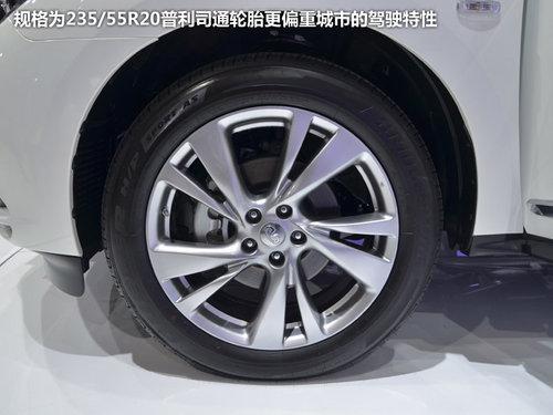 豪华七座SUV 英菲尼迪JX35成都车展实拍