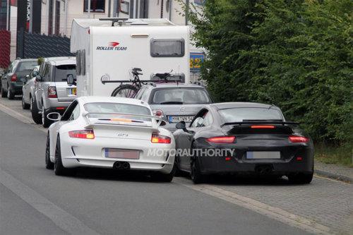 911 GT3最新谍照 家族造型/450马力输出