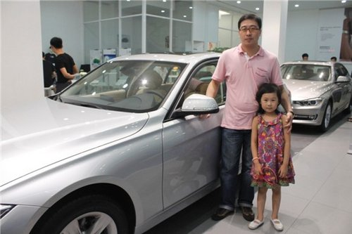 宁波宝恒全新BMW3系车主王先生专访