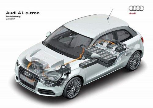 奥迪A1 e-tron升级版 搭双模式混动技术