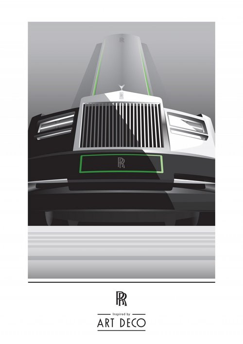 劳斯莱斯新车预告 艺术特别版巴黎车展发布