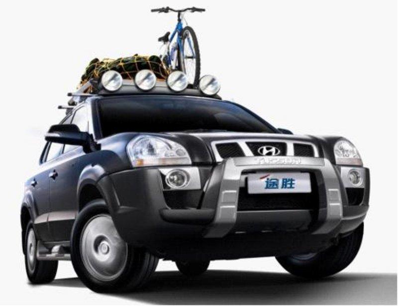 金秋大促销 北京现代途胜SUV车型特卖中高清图片