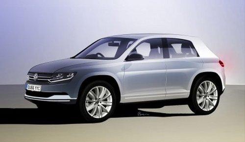 大众新小型换代PoloSUV将于2014年发布