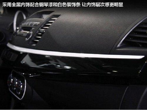 2012广州国际车展 三菱翼神黑白版实拍