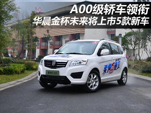 A00级领衔 华晨金杯未来将上市5款新车