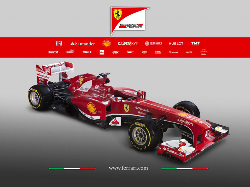 2013款法拉利f1赛车官图 全新命名f138 图片浏览 高清图片