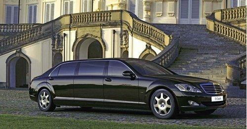 2009款奔驰s600 pullman图片