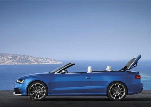 2014款奥迪RS5敞篷版售价发布 四月上市