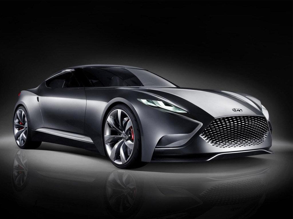 劳恩斯酷派原型车 现代hnd 9概念车发布高清图片