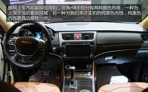 更换新标/外观增配 上海车展实拍哈弗H8