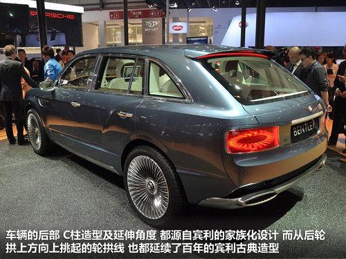 与奥迪新Q7同平台 宾利SUV等四新车规划
