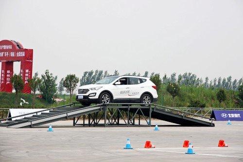 北京现代全系suv试驾体验营登陆郑州