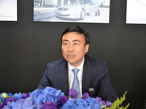 网上车市专访奔驰执行副总裁孙伟华先生