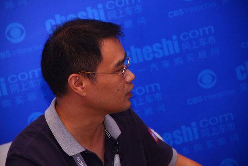网上车市专访辰安汽车总经理郑晖