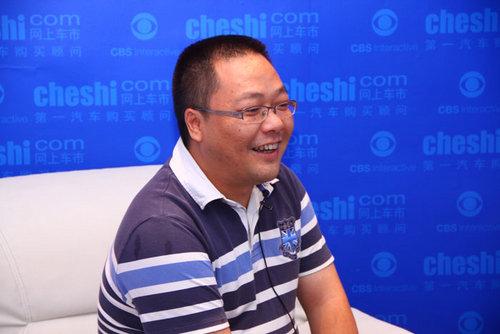 网上车市专访广汽新元素总经理税刚林