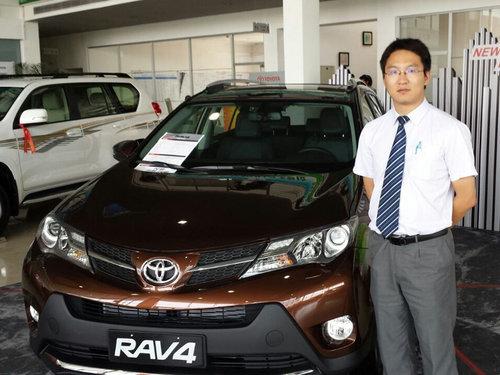 专访北京运通博裕丰田4S店销售总监白桦