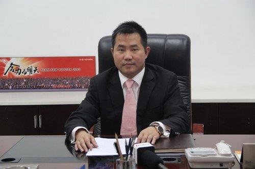 义乌龙田丰田总经理张跃平媒体采访会