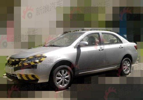 匹配三款发动机 新款比亚迪F3谍照曝光高清图片