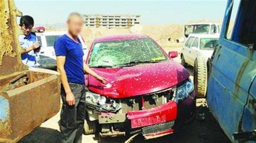 崂山区发生惨烈车祸 男子驾车撞死人逃逸