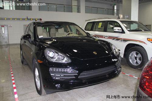 保时捷卡宴3.0柴油版 现车黑色最低88万