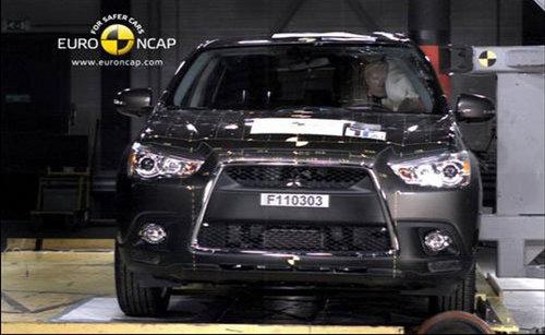 三菱劲炫 欧洲E-NCAP五星碰撞测试