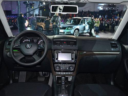 上海大众斯柯达suv车型yeti野帝硬派登场高清图片