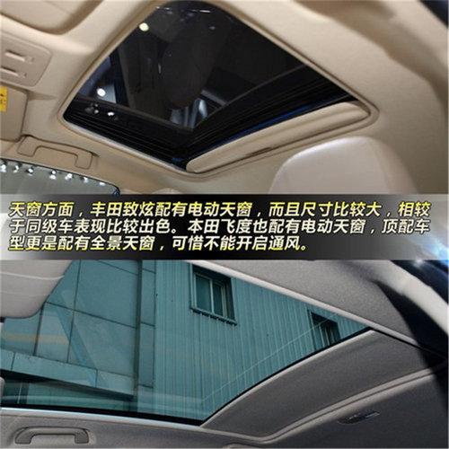 轻个性化选择 丰田致炫对比本田飞度高清图片