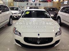玛莎拉蒂总裁大幅度降价销售  天津现车