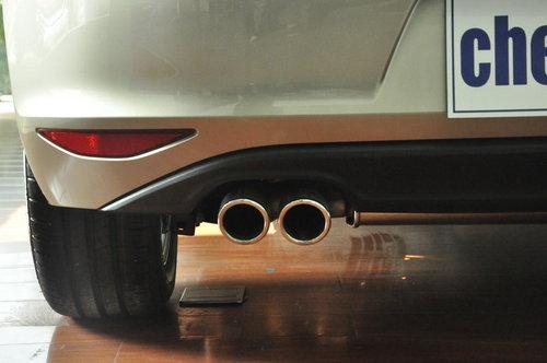 硬朗的外观 愈加动感-高尔夫7新车实拍