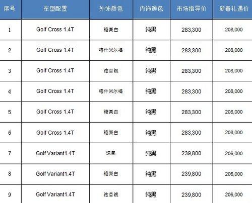苏州捷骏进口高尔夫优惠7.5万