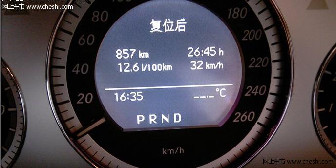 车友交glk300 3000公里油耗作业 高清图片