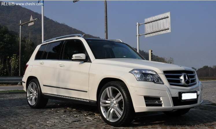 白色奔驰glk用车问题总结 高清图片
