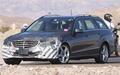 2013款奔驰E级旅行车谍照  外形变化最明显
