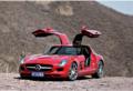 奔驰SLS级AMG动力强劲试驾奔驰SLS AMG
