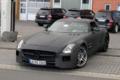 3.5秒破百 奔驰SLS AMG黑色版外观谍照曝光