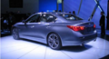 质量可靠 英菲尼迪全新Q50日本下线 Q系列首款车
