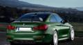 宝马M4改装效果图 外观和动力的变革