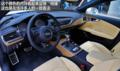 奥迪S6/S7 内饰运动四驱车也可以很激情