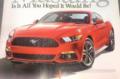 2015款福特野马泄露 外观变化显著
