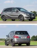 2015款奔驰B级外观动感售26.2万起国内上市