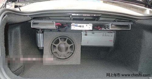 沃尔沃S80摩雷音响改装