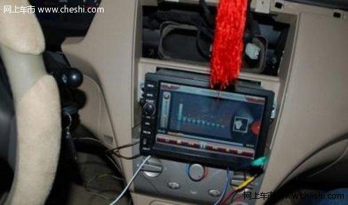 奇瑞A5安装方向盘控制键 更换7回路游丝